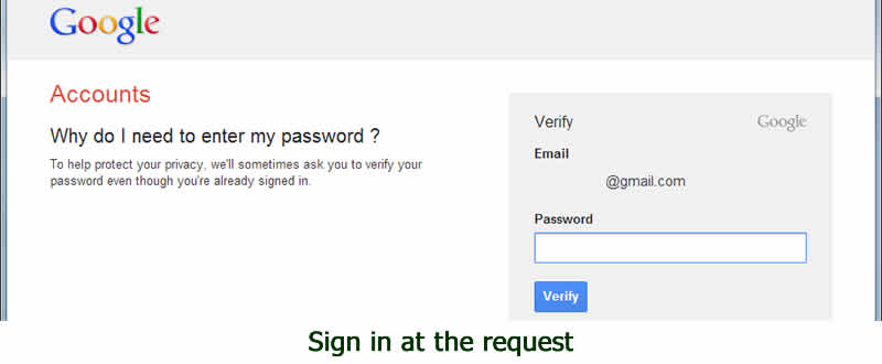 Google Account security with dorsetdog.com