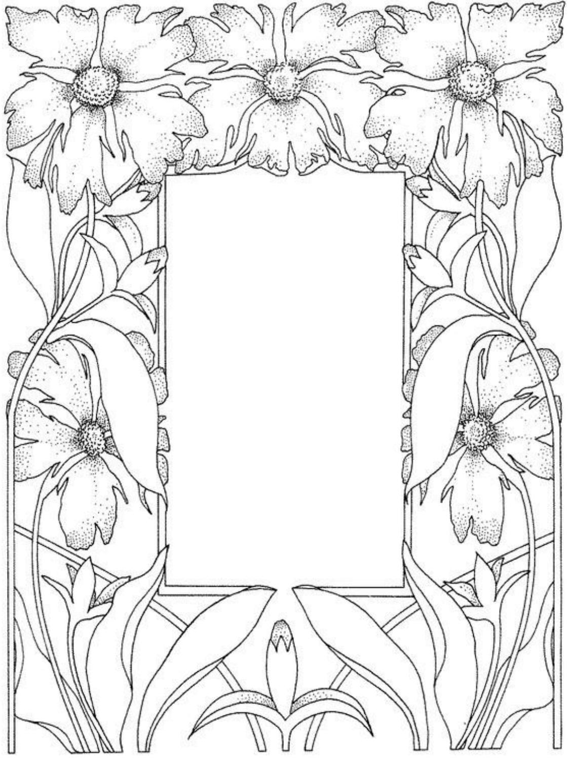 Zen archangelism blank spell pages for Blank flower coloring pages