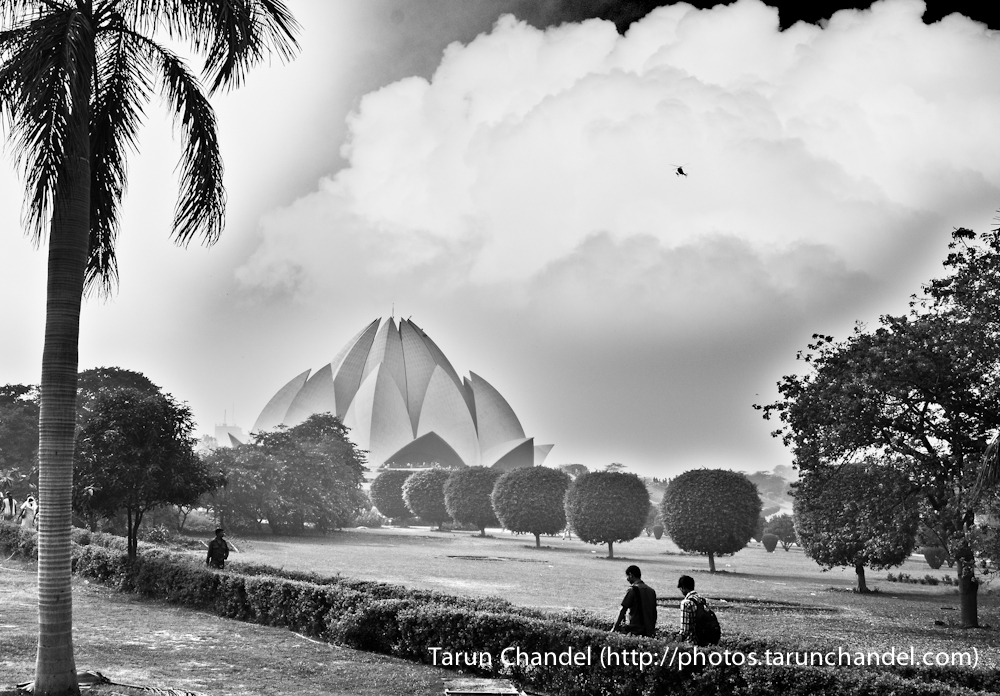 Lotus Temple Delhi, Tarun Chandel Photoblog