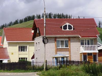 Монголия, Эрдэнэт, коттеджи