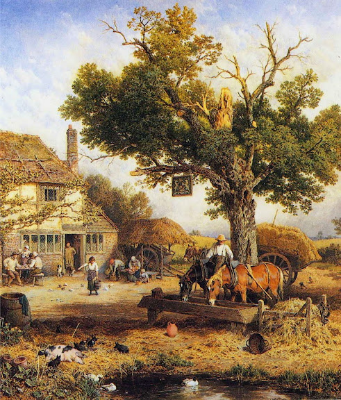 Myles Birket Foster - The Country Inn
