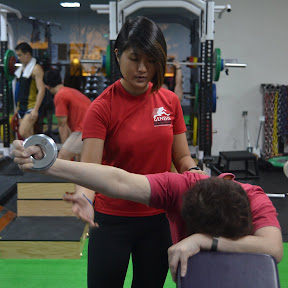 female fitness instructor singapore