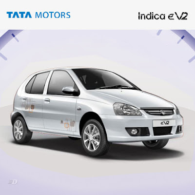 New Tata Indica eV2 white shade image