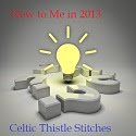 Linky to 'Try Something New' each month at 'Celtic Thistle Stitches'