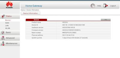 Primera configuración Router Huawei HG532c de Jazztel