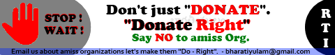 Donate Right - Bharatiyulam