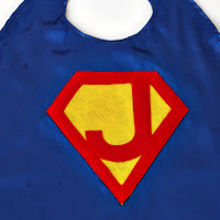 Superman cape close-up by SweeterThanSweets