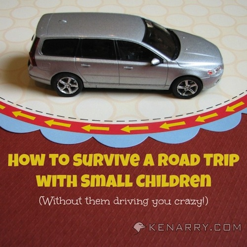 Surviving Road Trips with Small Children by Kenarry