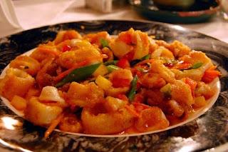 Καλαμάρια με Ντομάτα,Squid with Tomato.