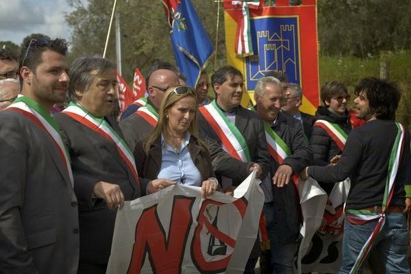 No MUOS, sindaci ANCE, Leoluca Orlando