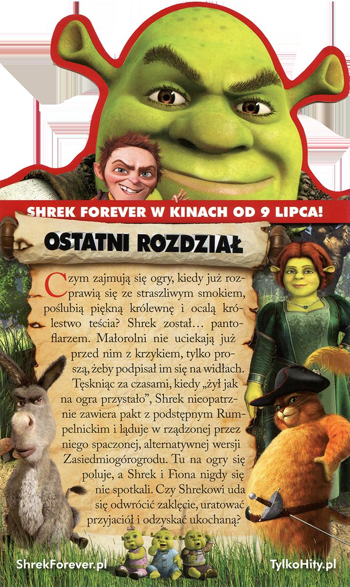 Ulotka filmu 'Shrek Forever (tył)'