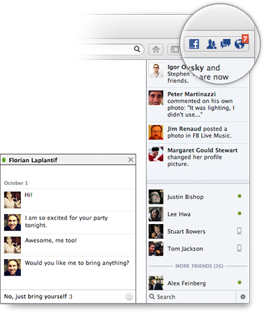 Now Facebook can chat in the browser with a Facebook Messenger for Firefox