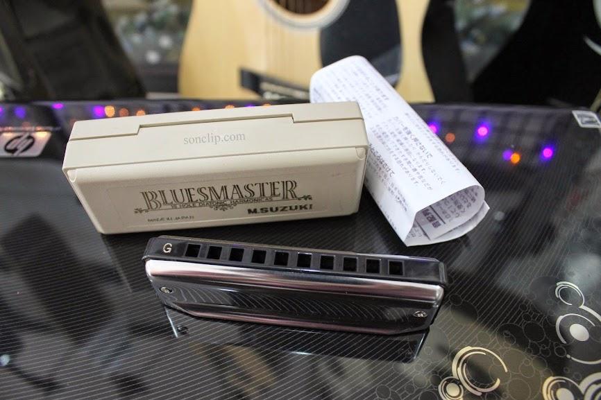 Kèn Harmonica - Suzuki BluesMaster MR-250 (key G)