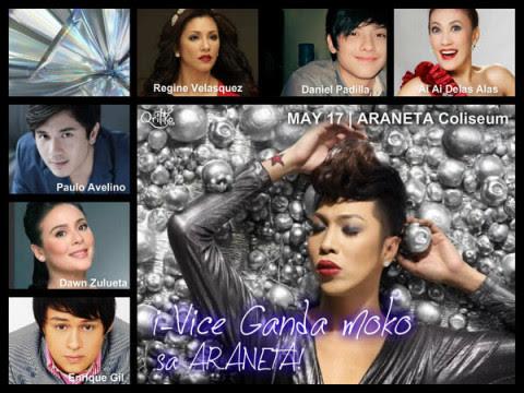 I-Vice Ganda Mo 'Ko SMART Araneta – Lineup