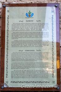 Bursa, Trilye'deki Taş Mektep hakkında