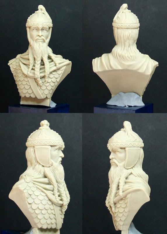 Busto de Enano o de Visigodo BustoEnanoResina