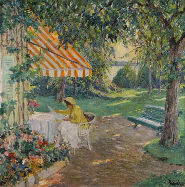 Edward Cucuel - Summer on Lake Starnberg