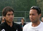 Foto's Training / Forum Giovanni van Bronckhorst en Denny Landzaat
