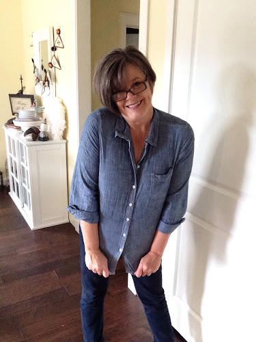 Fashion for fifty somethings, denim,shirt