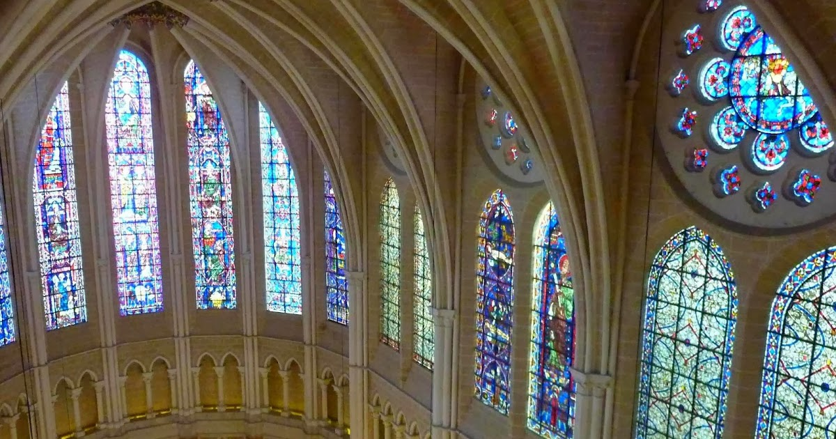Algargos arte e historia las vidrieras de la catedral de - Vidrieras de colores ...