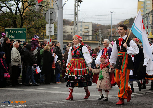 Parada z okazji Święta Odzyskania Niepodlegości i w Gdyni