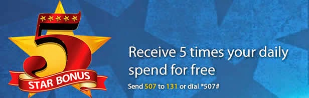MTN Seasons of surprises -Enjoy 500% Bonus On All Recharge