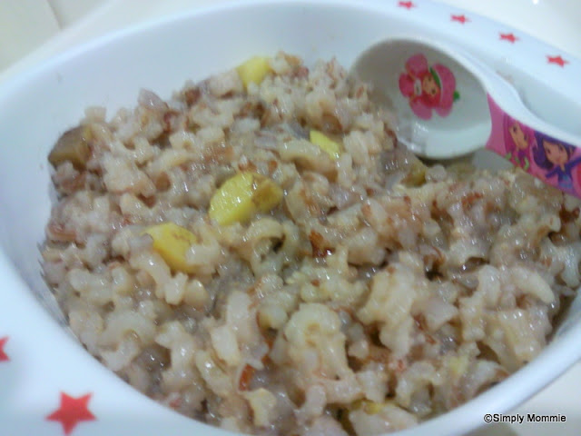 sweet potato porridge for toddlers