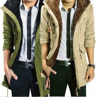 Men Coat Winter Overcoat Outwear Custom Fit 3 colors Av