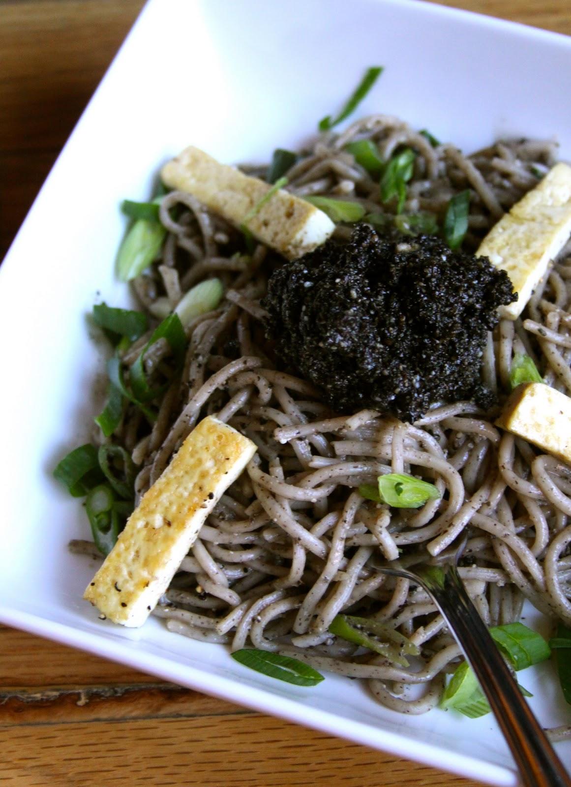 Foodie Fridays: Black Sesame Otsu - Climbing Grier Mountain