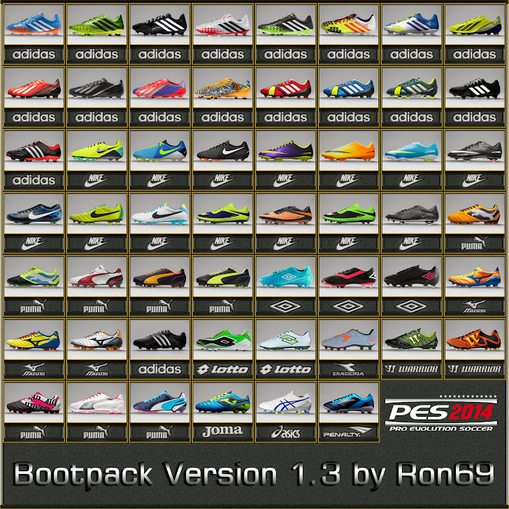 Bootpack 1.3 by Ron69 - PES 2014