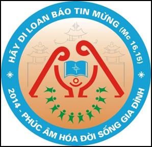 Logo ĐH Giới trẻ giáo tình Hà Nội lần thứ XII