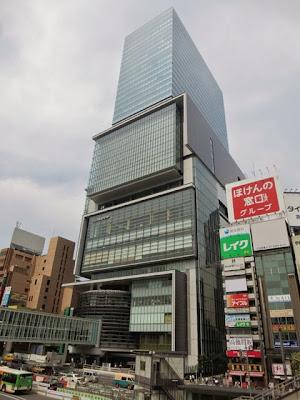 渋谷駅東口にある渋谷ヒカリエ