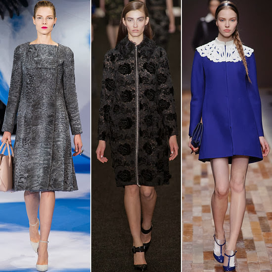 Christian Dior, Erdem, and Valentino