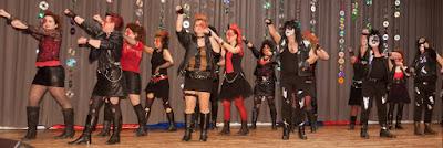 Die Tanzgruppe Freestyle rockt die Halle!