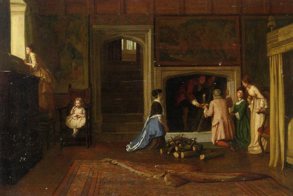 William Frederick Yeames - The Fugitive Jacobite