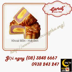 Bánh trung thu Givral Khoai Môn - Hạt Sen
