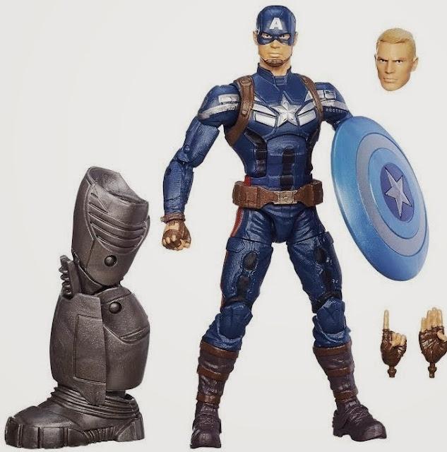 Mô hình Captain America phiên bản Legends cao 17 cm