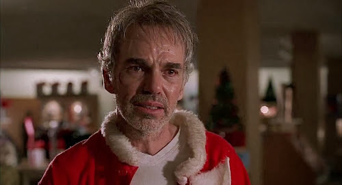 Screen Shot Of Hollywood Movie Bad Santa (2003) In Hindi English Full Movie Free Download And Watch Online at Alldownloads4u.Com