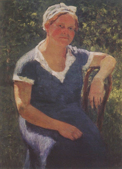 Igor Grabar - Portrait of Valentina Grabar, the Artist's Wife