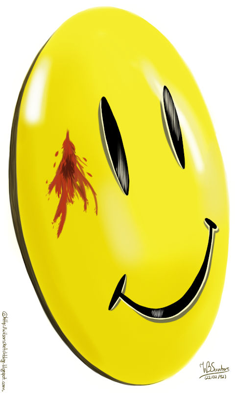 Watchmen smiley face