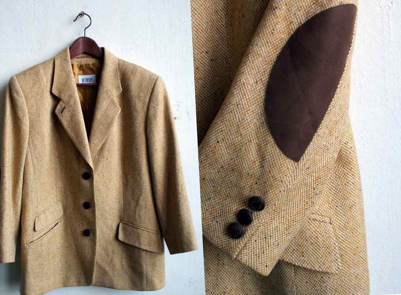 Британский твидовый пиджак