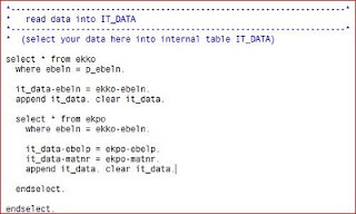 Extracción de datos