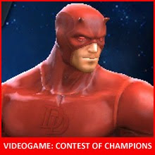 Daredevil nel videogame Marvel Contest of Champions