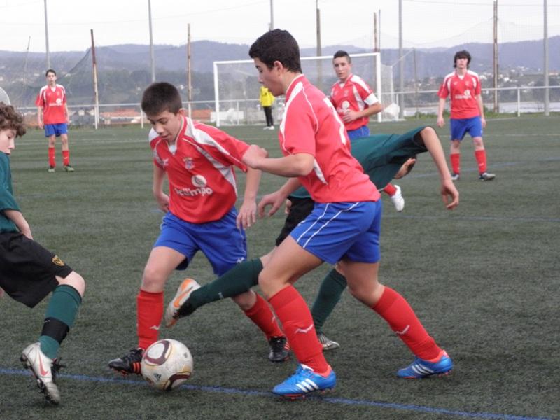 Instante do partido Numancia - Meirás da temporada 2012-13 (09/02/2013)