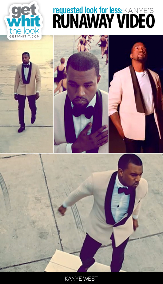 Requested Look for Less: Kanye West's Runaway Video