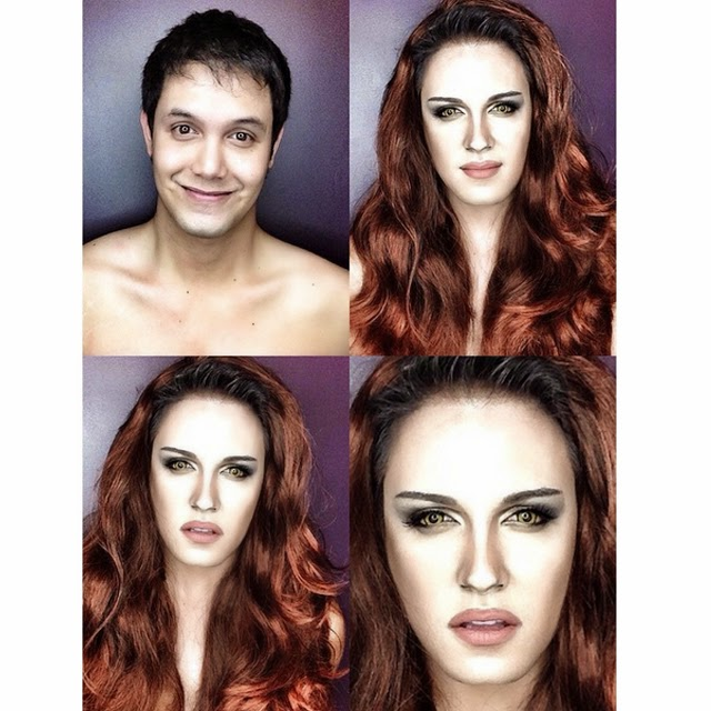 Paolo Ballesteros Makeup Transformations with Pictures 14