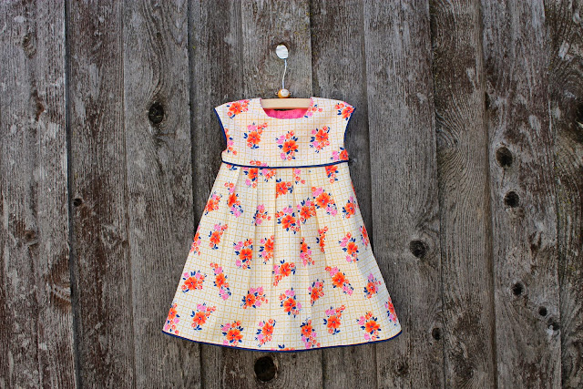summery geranium dress by dandelions and lace