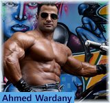 Ahmed Wardany - IFBB World Light-MiddleWeight Champion of 2010