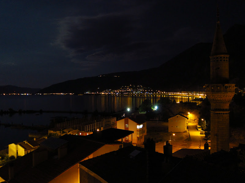 Eğirdir at night
