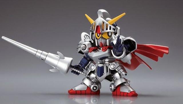 Lắp ghép Knight Gundam Gaiden Legend BB-370 SD Gundam không tỷ lệ, cao khoảng 8 cm
